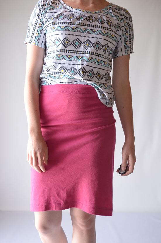Tutorial: Single Seam Skirt