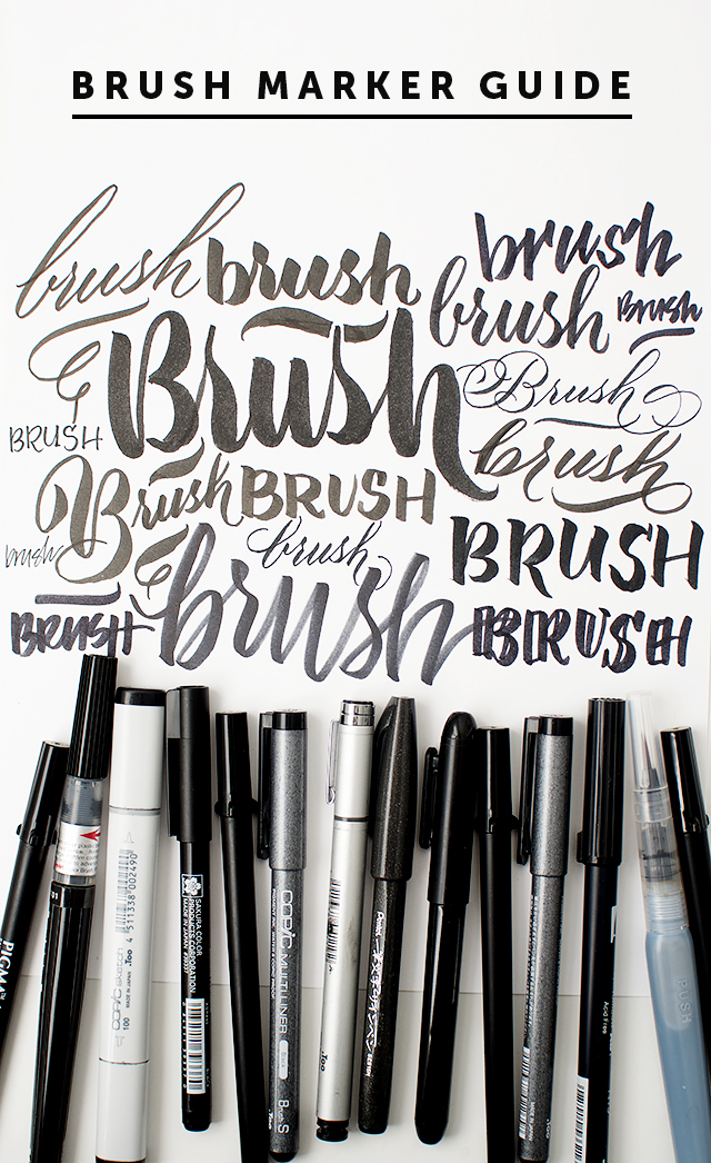 A simple guide to brush markers i still love you by